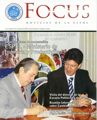 PORTADA REVISTA FOCUS EDICION No 38