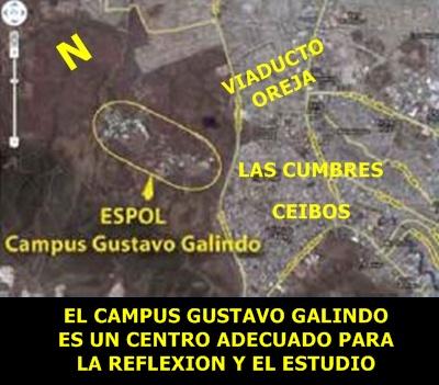 UBICACIÓN DEL CAMPUS GUSTAVO GALINDO
