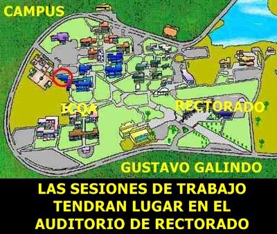 UBICACIÓN AUDITORIO DE RECTORADO