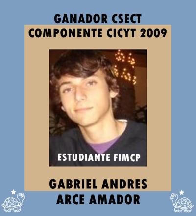 Gabriel Arce Ganador CSECT componente CICYT