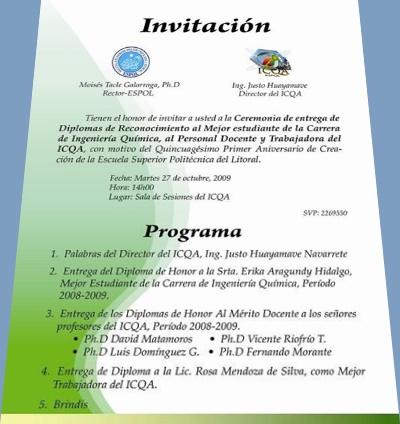 INVITACIÓN PARA TODOS