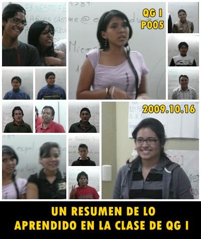 ELABORANDO UN GRAN RESUMEN ALUMNOS P005
