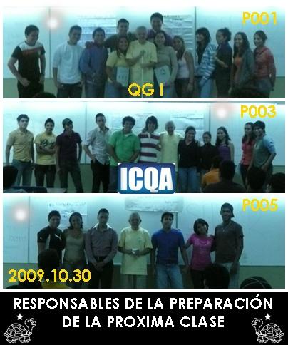 RESPONSABLES DE LA PREPARACIÓN DE LA SIGUIENTE CLASE