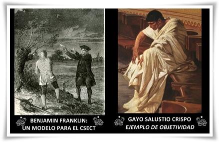 BENJAMIN FRANKLIN Y GAYO SALUSTIO