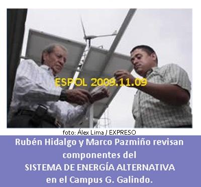 RUBÉN HIDALGO Y MARCO PAZMIÑO