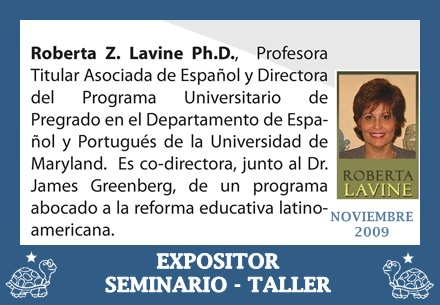 EXPOSITORA, ROBERTA LAVINE, Ph. D.