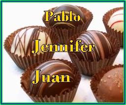 RESPONSABLES DE TRAER CHOCOLATES