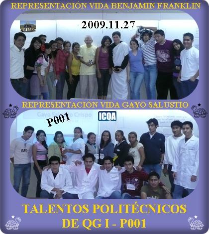 ACTORES Y ACTRICES DEL P001