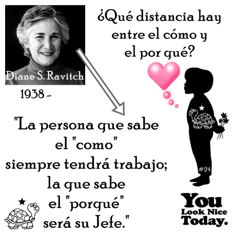 You look nice today Diane Ravitch