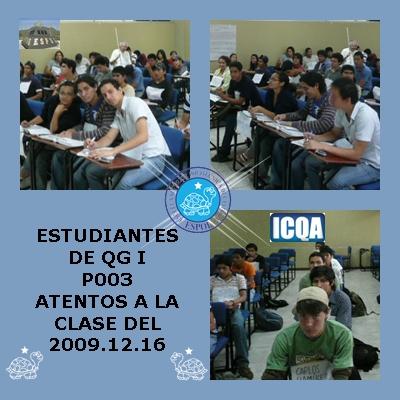 ESTUDIANTES DE QG I, P003