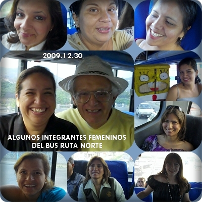 INTEGRANTES FEMENINOS DE LA RUTA NORTE