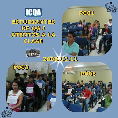 LOS DIFERENTES PARALELOS ATENTOS A LA CLASE DE QG I