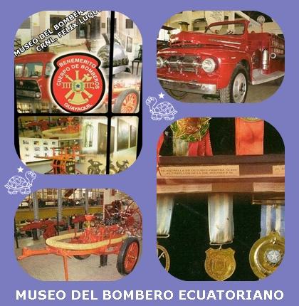 IMÁGENES: MUSEO DEL BOMBERO ECUATORIANO