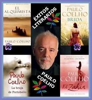 VARIOS ÉXITOS LITERARIOS DE PAULO COELHO