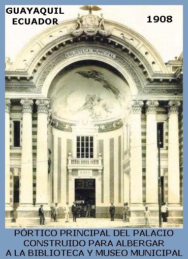 GUAYAQUIL - ECUADOR - 1908