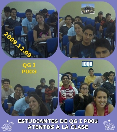 ESTUDIANTES DE QG I P003