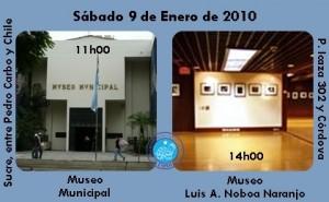 MUSEOS VISITADOS