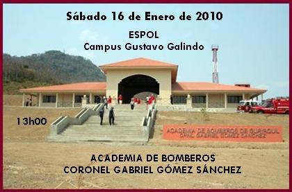 """ACADEMIA DE BOMBEROS """"CORONEL GABRIEL GÓMEZ SÁNCHEZ"""""""