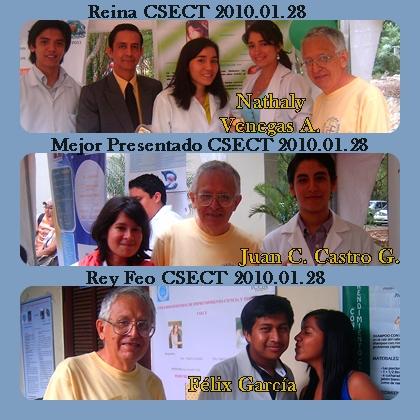 Reyna, Rey Feo y mejor presentado del CSECT del 2010.01.28