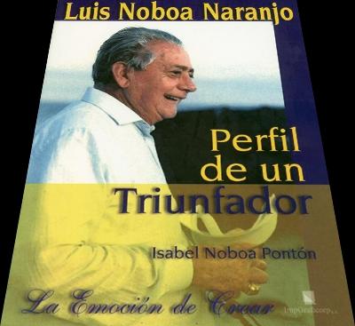 PORTADA DEL LIBRO: PERFIL DE UN TRIUNFADOR