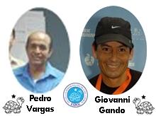 Pedro Vargas y Giovanni Gando