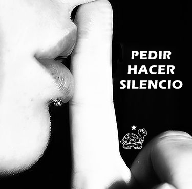 PEDIR HACER SILENCIO