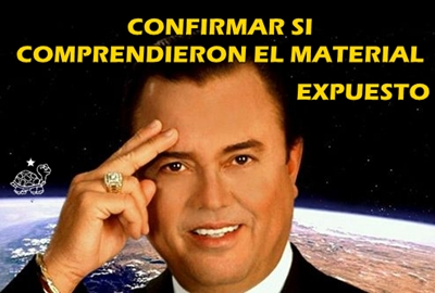 CONFIRMAR SI ENTENDIERON LA EXPOSICIN