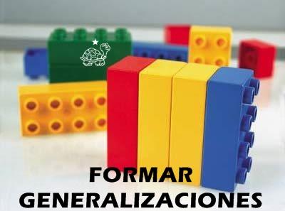 FORMAR GENERALIZACIONES
