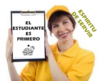 DEMUESTRE SU ESPRITU DE SERVIR