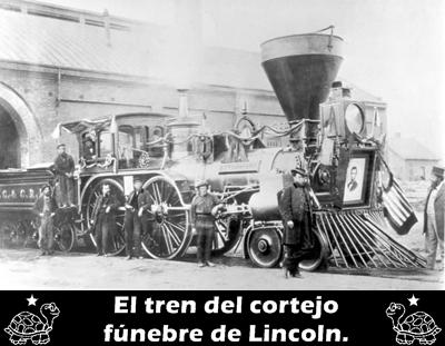 EL TREN DEL CORTEJO FÚNEBRE DE LINCOLN