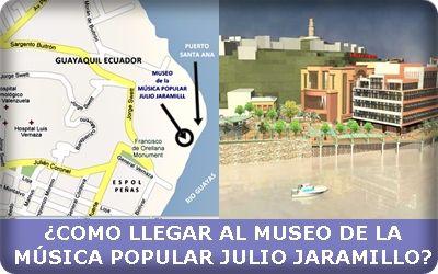 Como llegar al Museo  de la Musica Popular Julio Jaramillo
