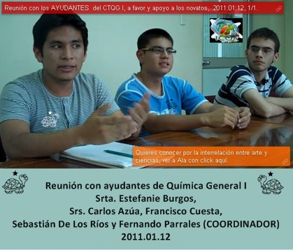 Ayudantes ICQA - ESPOL