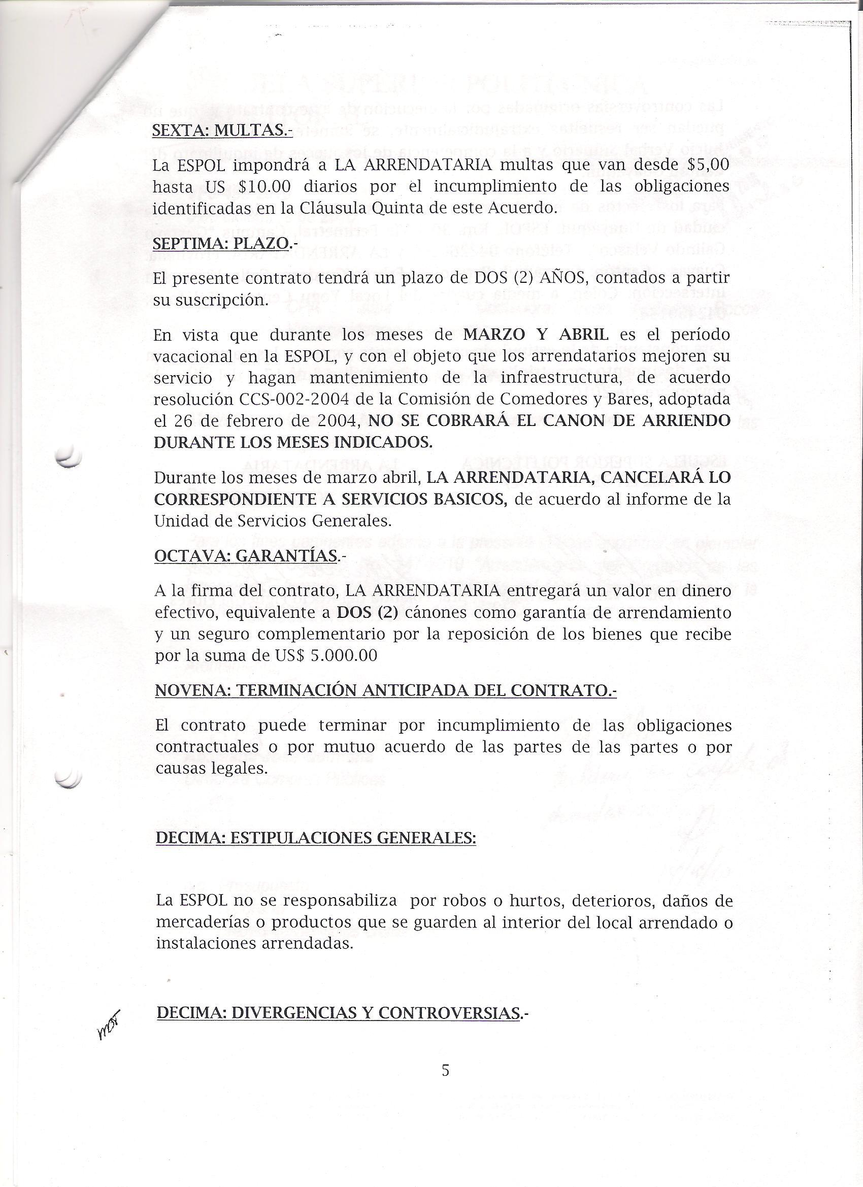Ejemplo de contrato de arrendamiento de local tattoo for Arrendamiento de bienes muebles ejemplos