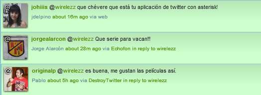 Replies de mi @wirelezz